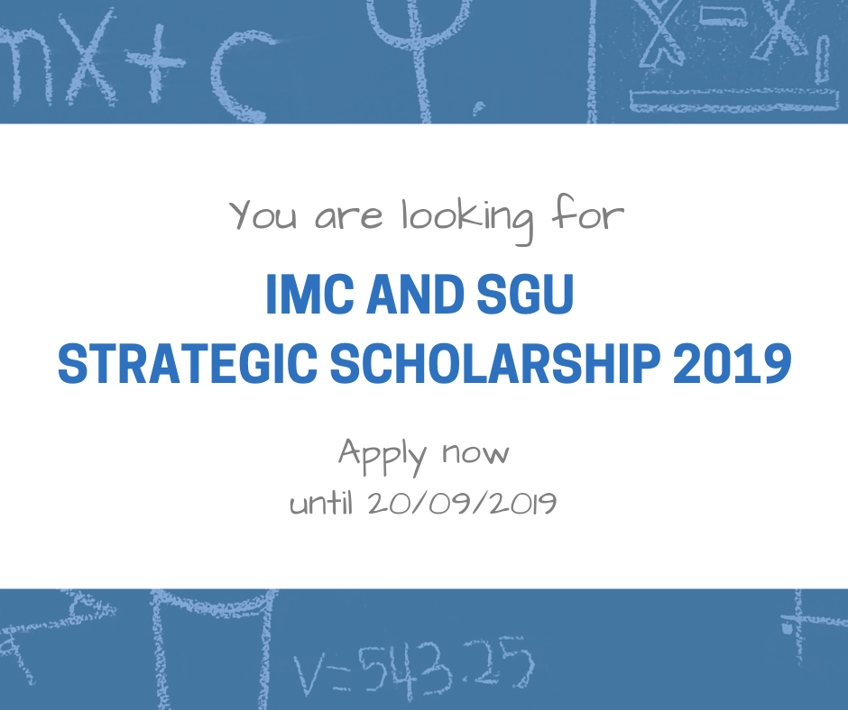 IMC & SGU Strategic Scholarship